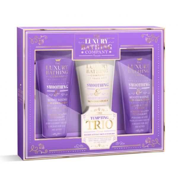Набор Grace Cole Lavender & Honeysuckle Tempting Trio / для женщин с ароматом лаванды и жимолости