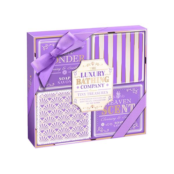 Набор Grace Cole Lavender & Honeysuckle Tiny Treasures / для женщин с ароматом лаванды и жимолости