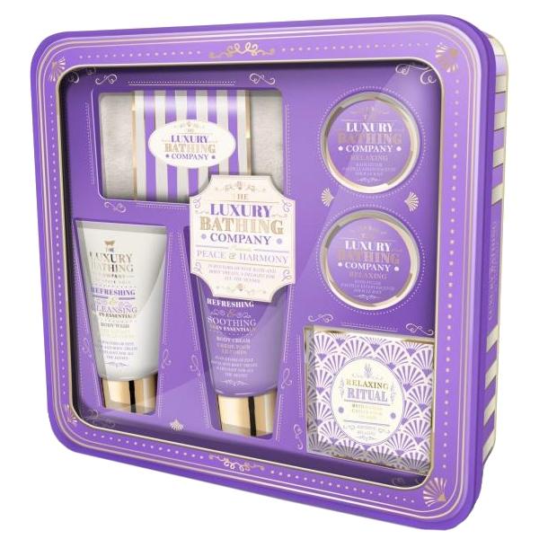 Набор Grace Cole Lavender & Honeysuckle Peace & Harmony / для женщин с ароматом лаванды и жимолости
