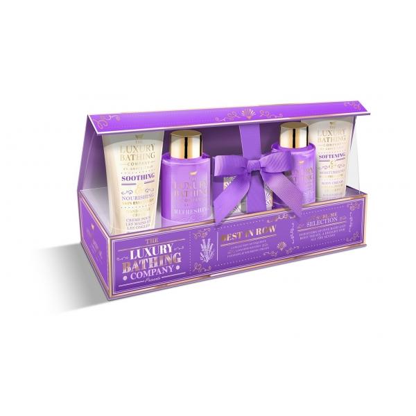 Набор Grace Cole Lavender & Honeysuckle Best in Row / для женщин с ароматом лаванды и жимолости