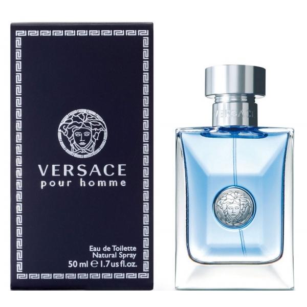 Versace Pour Homme — туалетная вода 50ml для мужчин