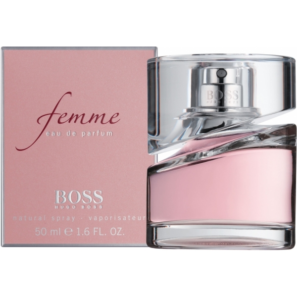 Hugo Boss Femme — парфюмированная вода 50ml для женщин