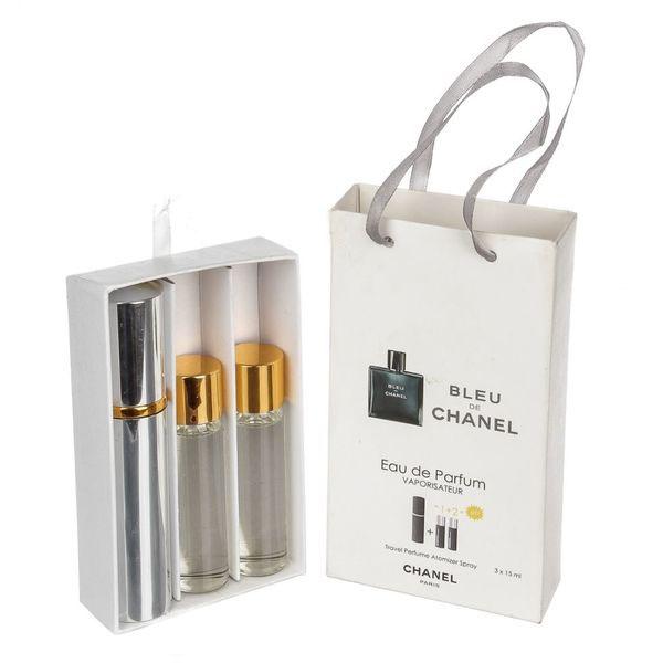 Chanel Bleu de Chanel — духи с феромонами 45ml (3x15) для мужчин