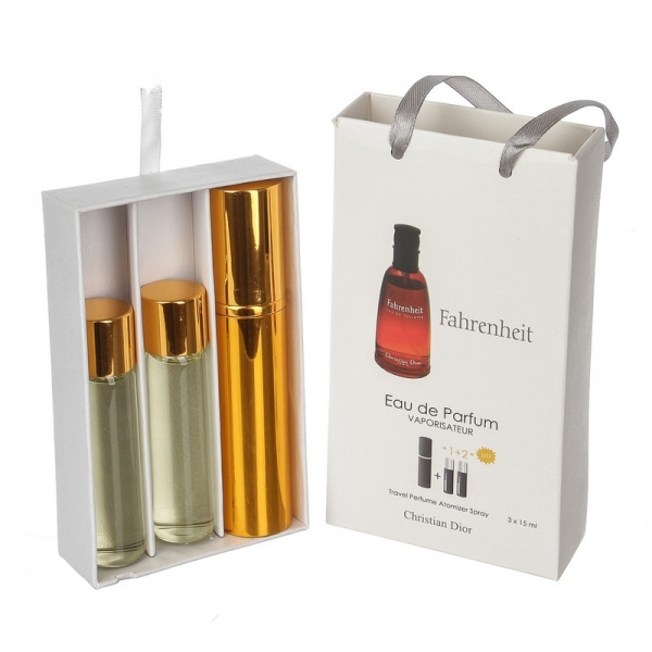 Christian Dior Fahrenheit — духи с феромонами 45ml (3x15) для мужчин