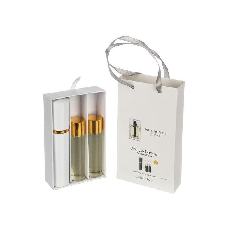 Christian Dior Homme Sport — духи с феромонами 45ml (3x15) для мужчин