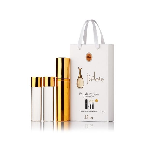Christian Dior J`adore — духи с феромонами 45ml (3x15) для женщин