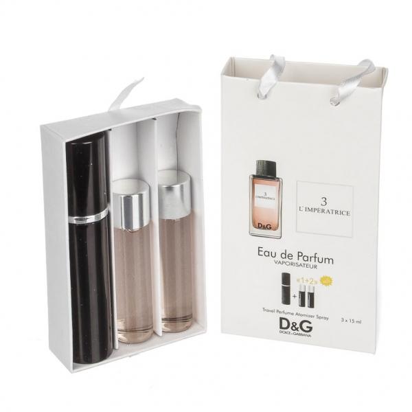 Dolce & Gabbana 3 L`Imperatrice / духи с феромонами 45ml (3x15) для женщин