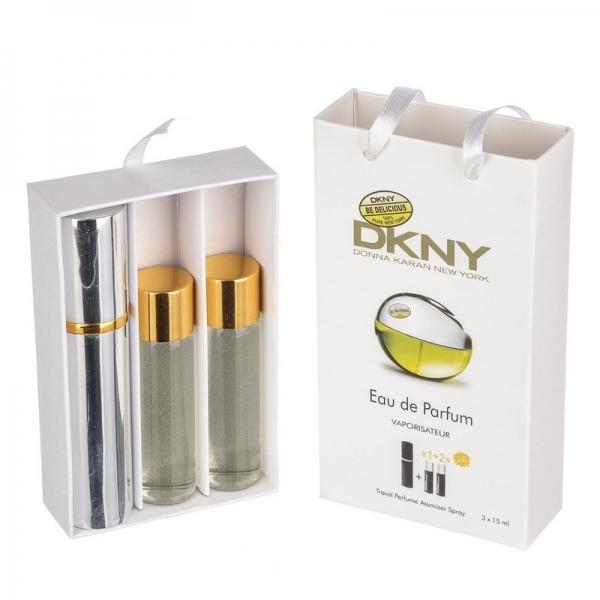 Donna Karan DKNY Be Delicious — духи с феромонами 45ml (3x15) для женщин