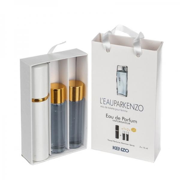 Kenzo L`eau Par — духи с феромонами 45ml (3x15) для женщин