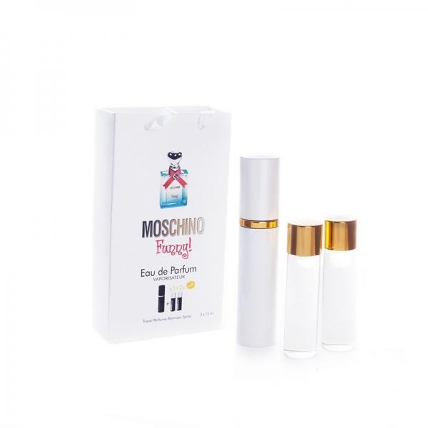 Moschino Funny — духи с феромонами 45ml (3x15) для женщин