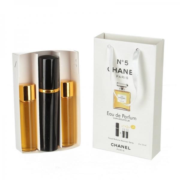 Chanel N 5 — духи с феромонами 45ml (3x15) для женщин