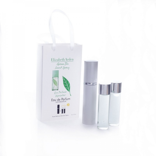 Elizabeth Arden Green Tea — духи с феромонами 45ml (3x15) для женщин