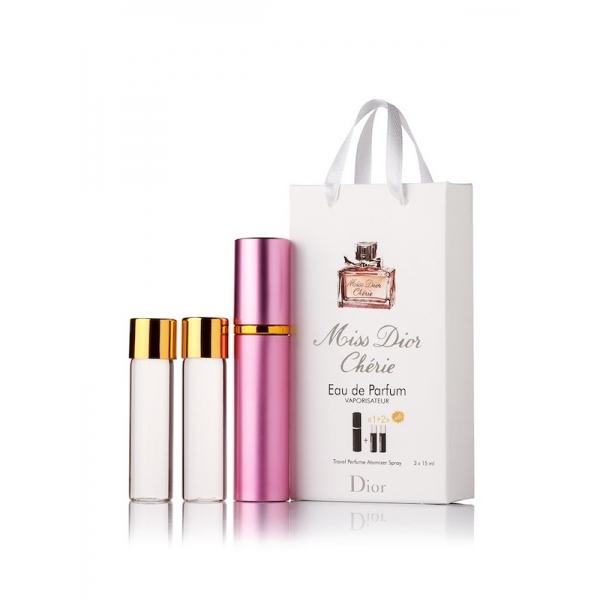 Christian Dior Miss Christian Dior Cherie — духи с феромонами 45ml (3x15) для женщин