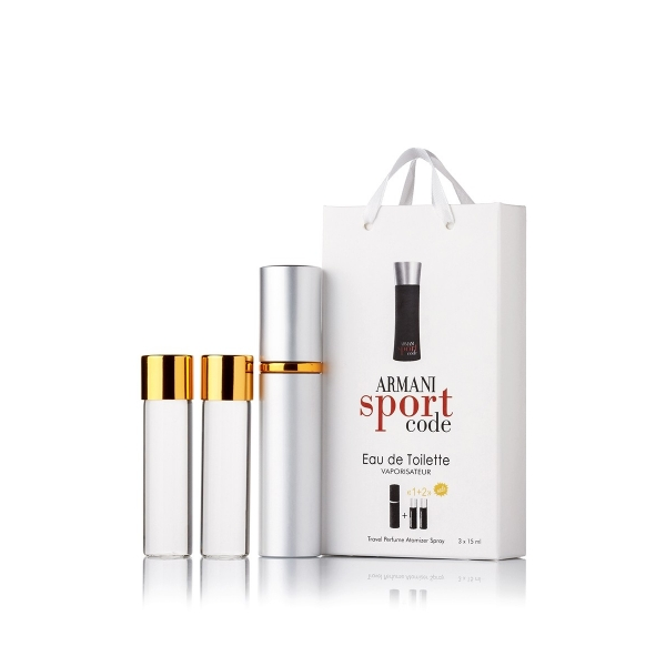 Giorgio Armani Code Sport — духи с феромонами 45ml (3x15) для мужчин
