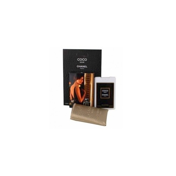 Chanel Coco Noir — мини парфюм в кожаном чехле 20ml для женщин
