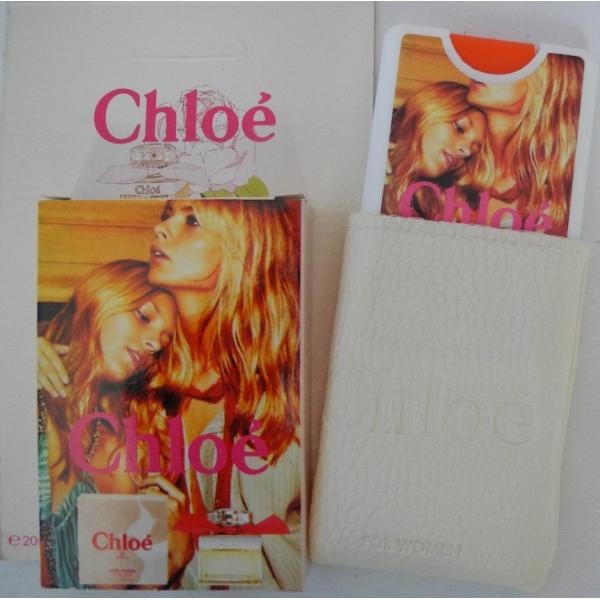 Chloe — мини парфюм в кожаном чехле 20ml для женщин