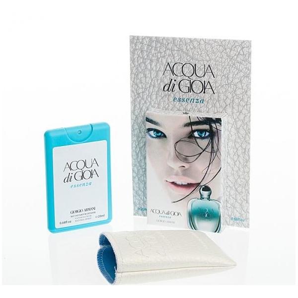 Giorgio Armani Acqua di Gioia Essenza Intense — мини парфюм в кожаном чехле 20ml для женщин