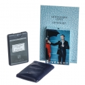 Givenchy Gentlemen Only — мини парфюм в кожаном чехле 20ml для мужчин