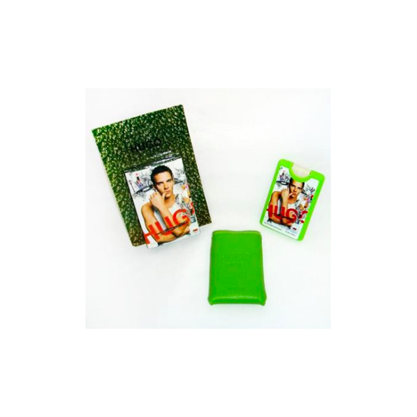 Hugo Boss Hugo — мини парфюм в кожаном чехле 20ml для мужчин