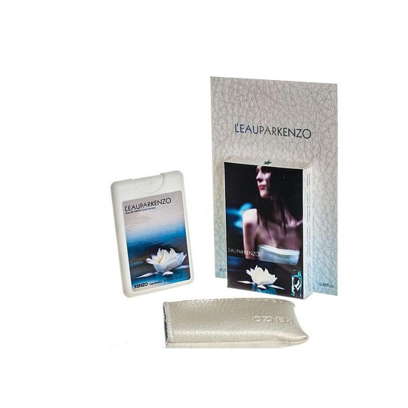 Kenzo L`eau Par — мини парфюм в кожаном чехле 20ml для женщин