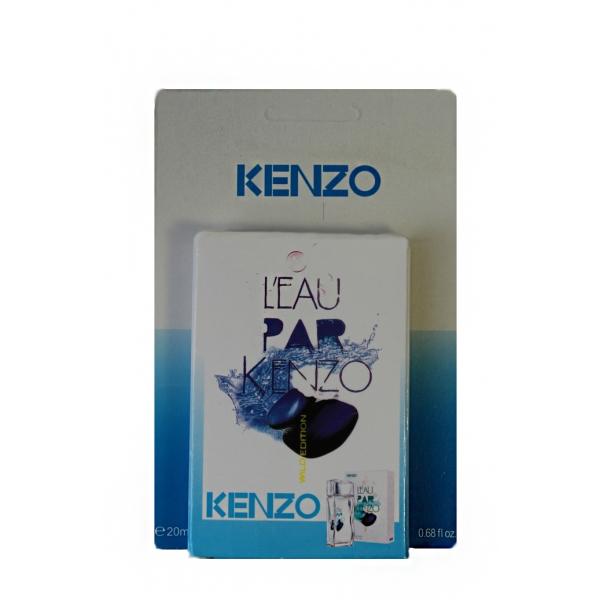 Kenzo L'Eau Par Wild Edition — мини парфюм в кожаном чехле 20ml для мужчин
