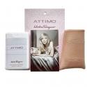 Salvatore Ferragamo Attimo — мини парфюм в кожаном чехле 20ml для женщин