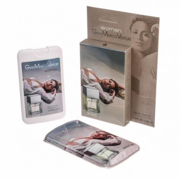 Gian Marco Venturi Woman — мини парфюм в кожаном чехле 50ml для женщин