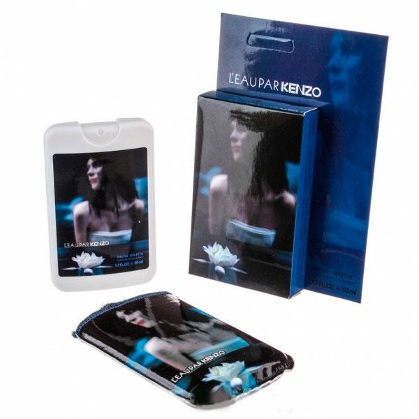 Kenzo L`eau Par — мини парфюм в кожаном чехле 50ml для женщин