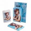Moschino Cheap & Chic I Love Love — мини парфюм в кожаном чехле 50ml для женщин