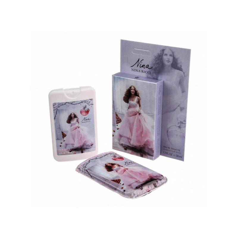 Nina Ricci Nina — мини парфюм в кожаном чехле 50ml для женщин