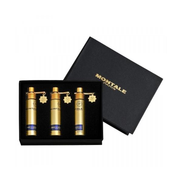 Montale Amber & Spices / подарочный парфюмерный набор (3x20ml) унисекс