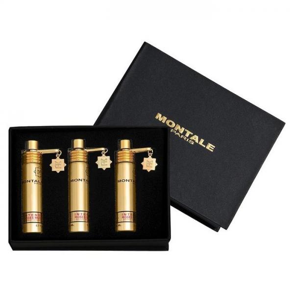 Montale Rose Musk Intense / подарочный парфюмерный набор (3x20ml) унисекс