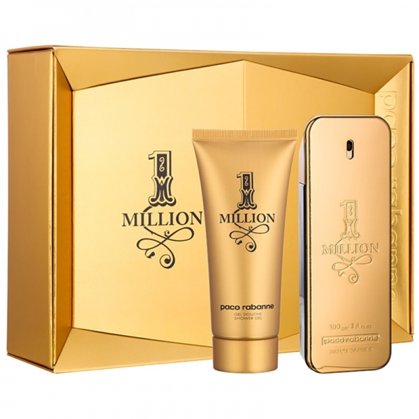 Paco Rabanne 1 Million — набор (edt 100ml+sh/gel 100ml) для мужчин