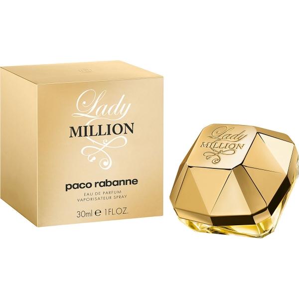 Paco Rabanne Lady Million — парфюмированная вода 30ml для женщин