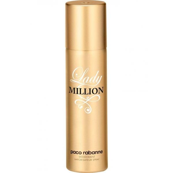 Paco Rabanne Lady Million — дезодорант 150ml для женщин