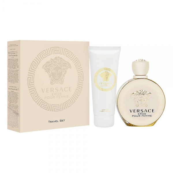 Versace Eros Pour Femme — набор (edp 100ml+b/lot 100ml) для женщин