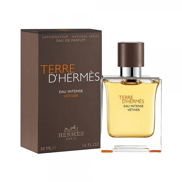 Hermes Terre D`Hermes Eau Intense Vetiver — парфюмированная вода 50ml для мужчин