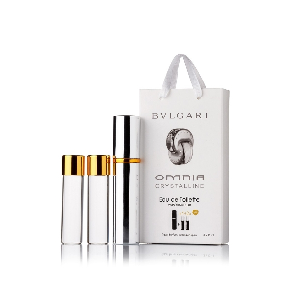 Bvlgari Omnia Crystalline — духи с феромонами 45ml (3x15) для женщин