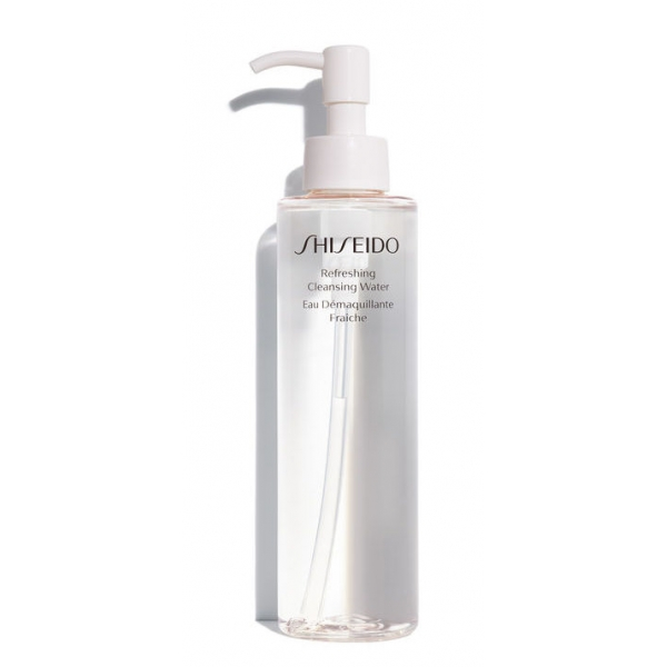 Shiseido Очищающая вода для лица Refreshing Cleansing Water 180ml для женщин