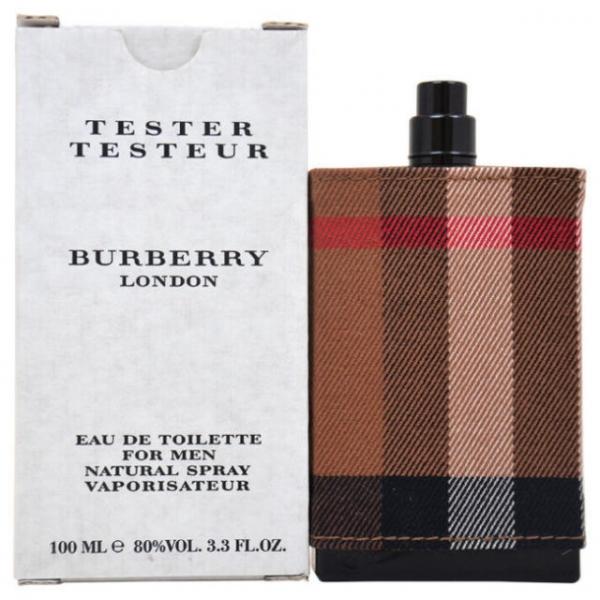 Burberry London for Men — туалетная вода 100ml для мужчин ТЕСТЕР