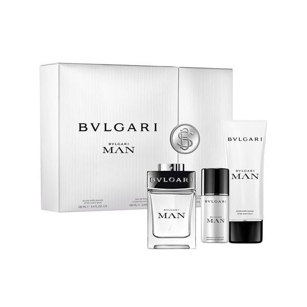 Bvlgari Man — набор (edt 100ml+a/sh balm 100ml+deo 100ml) для мужчин