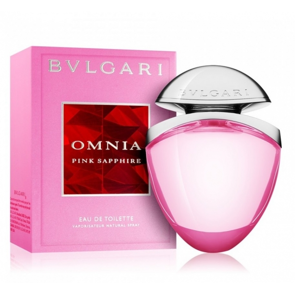 Bvlgari Omnia Pink Sapphire Jewel Charms Collection — туалетная вода 25ml для женщин