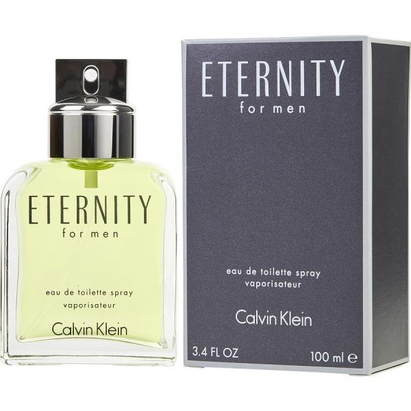 Calvin Klein Eternity For Men — туалетная вода 100ml для мужчин