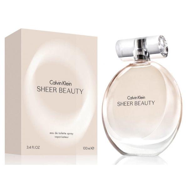 Calvin Klein Sheer Beauty — туалетная вода 50ml для женщин