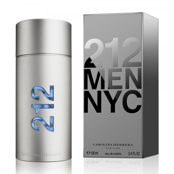 Carolina Herrera 212 MEN — туалетная вода 100ml для мужчин