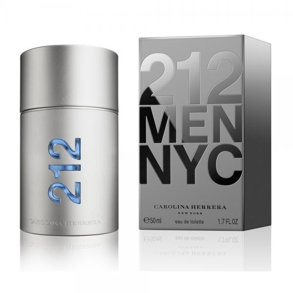 Carolina Herrera 212 MEN — туалетная вода 50ml для мужчин