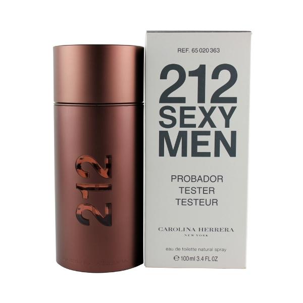 Carolina Herrera 212 MEN Sexy — туалетная вода 100ml для мужчин ТЕСТЕР