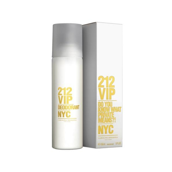 Carolina Herrera 212 Vip — дезодорант 150ml для женщин