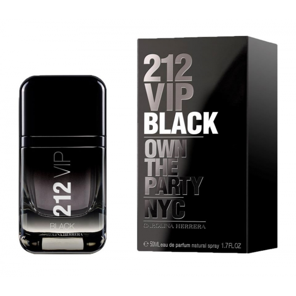 Carolina Herrera 212 VIP Black — парфюмированная вода 50ml для мужчин