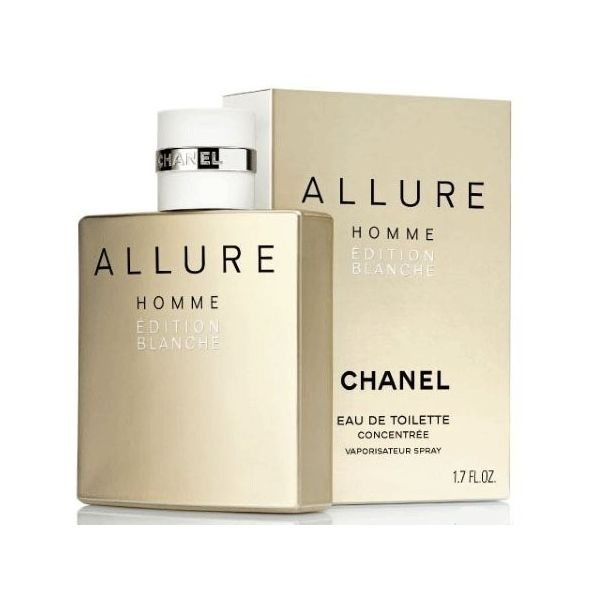 Chanel Allure Homme Edition Blanche — туалетная вода 50ml для мужчин